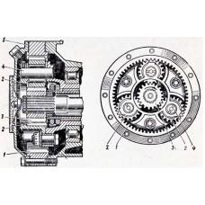 Бортовой редуктор для техники CLARK