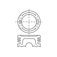 Поршень для двигателя HONDA A20A 65.3х29.8 (-1.2)