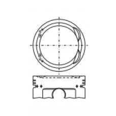 Поршень для двигателя HONDA A20A 65.3х29.8 (-2.3)