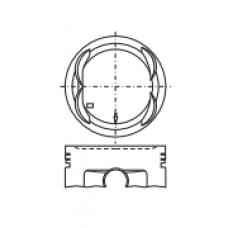 Поршень для двигателя HONDA A20A 65.3х29.8 (-2.4)