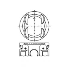 Поршень для двигателя HONDA B18B1