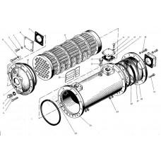 Охладитель масла для двигателя BARBCO